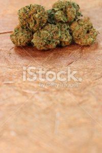 Blue Dream marijuana vertical