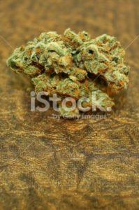 Strawberry Banana marijuana vertical